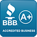 BBB A+ badge