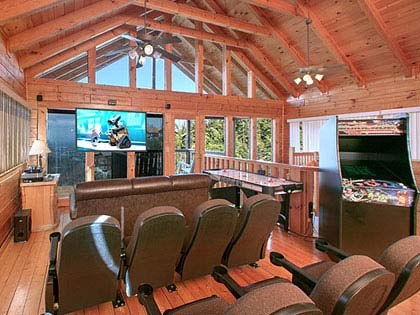 our cabin rentals are located in pigeon forge they feature wide