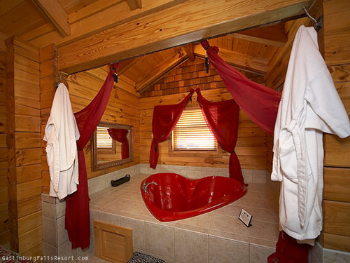 Romantic Honeymoon Cabins In Pigeon Forge Of